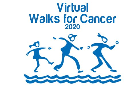 Register now for the Virtual Walks for Cancer
